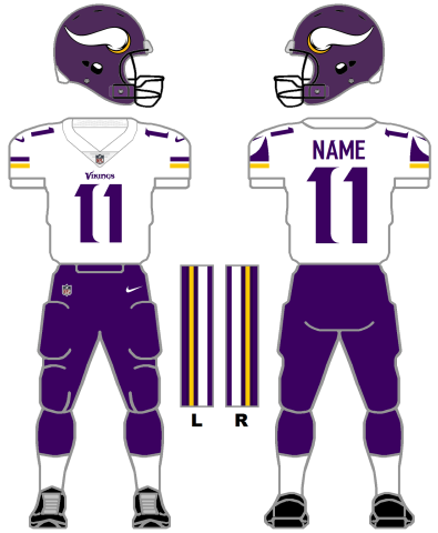 pretty nice 57b02 cec6e Vikings vs. Eagles -- A History In Uniforms | Zone Coverage